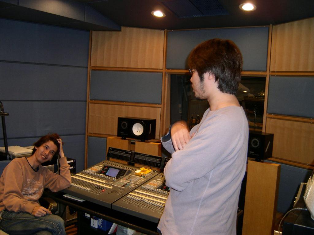 スタジオレコーディング