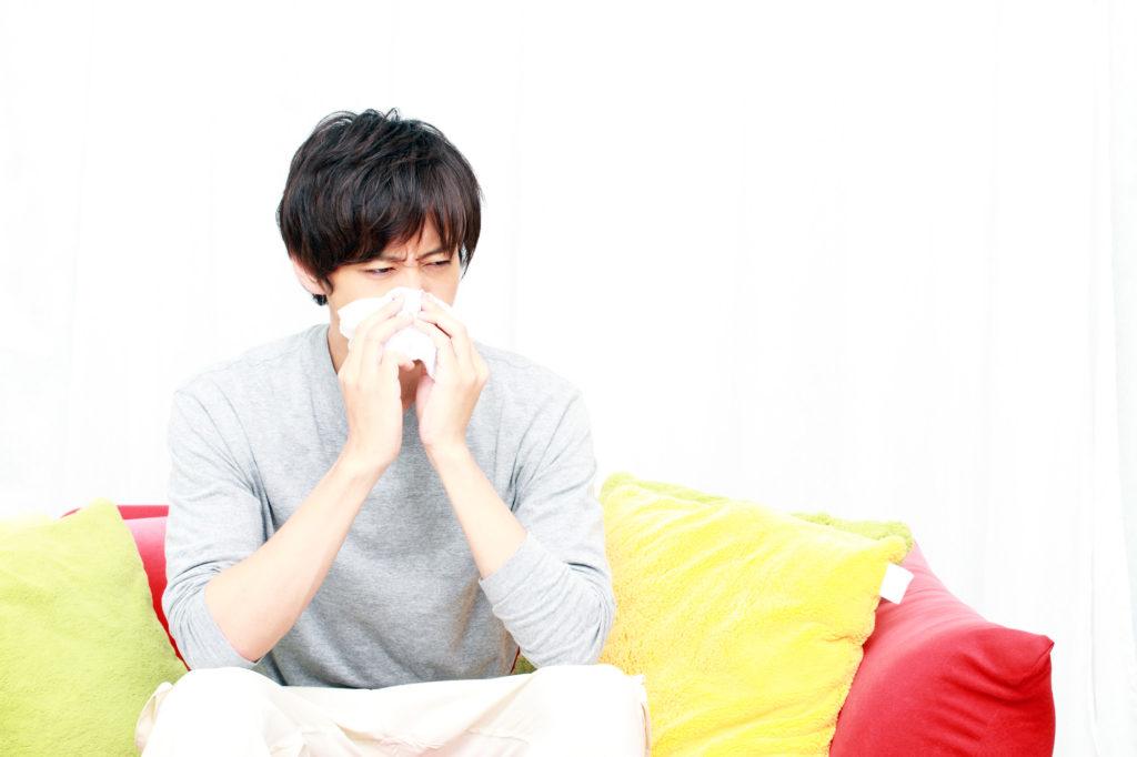 鼻詰まりのイメージ